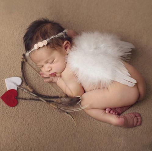 Andělská křídla na panenky