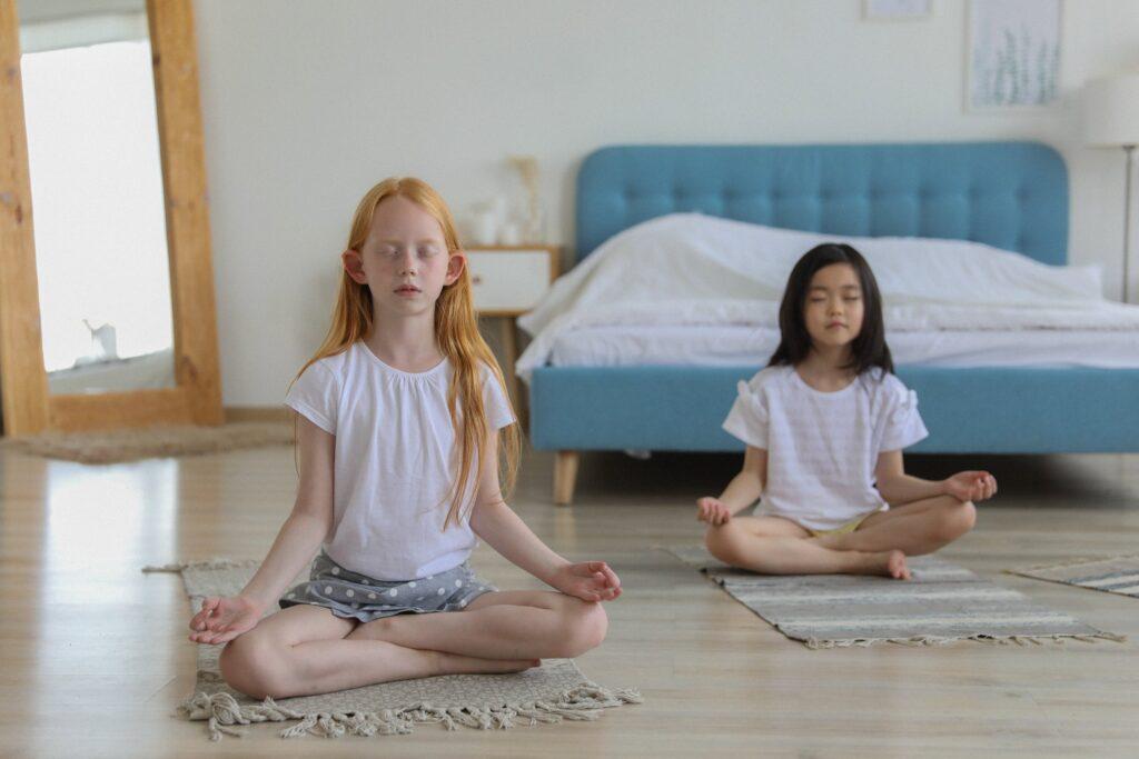 Jednoduché meditování s dětmi