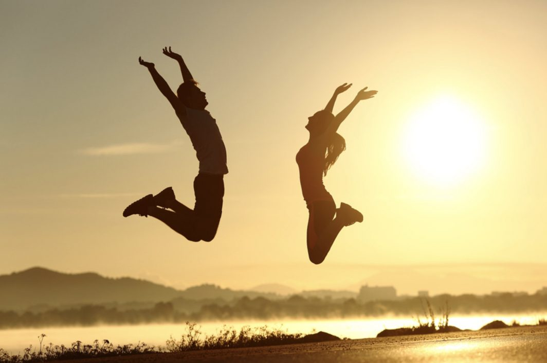 šťastní lidé, kteří našli smysl života