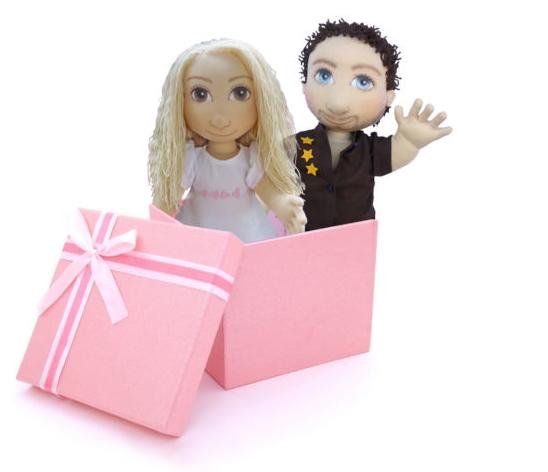 panenky jako dárek na vánoce, dárek pro ženy i děti