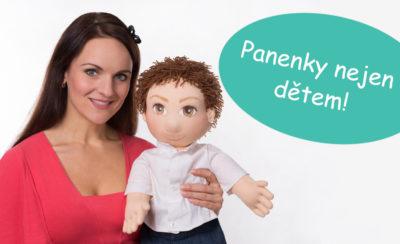 Foto terapeutické panenky pro léčbu vnitřního dítěte