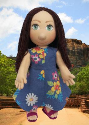 plyšák versus ručně šitá panenka