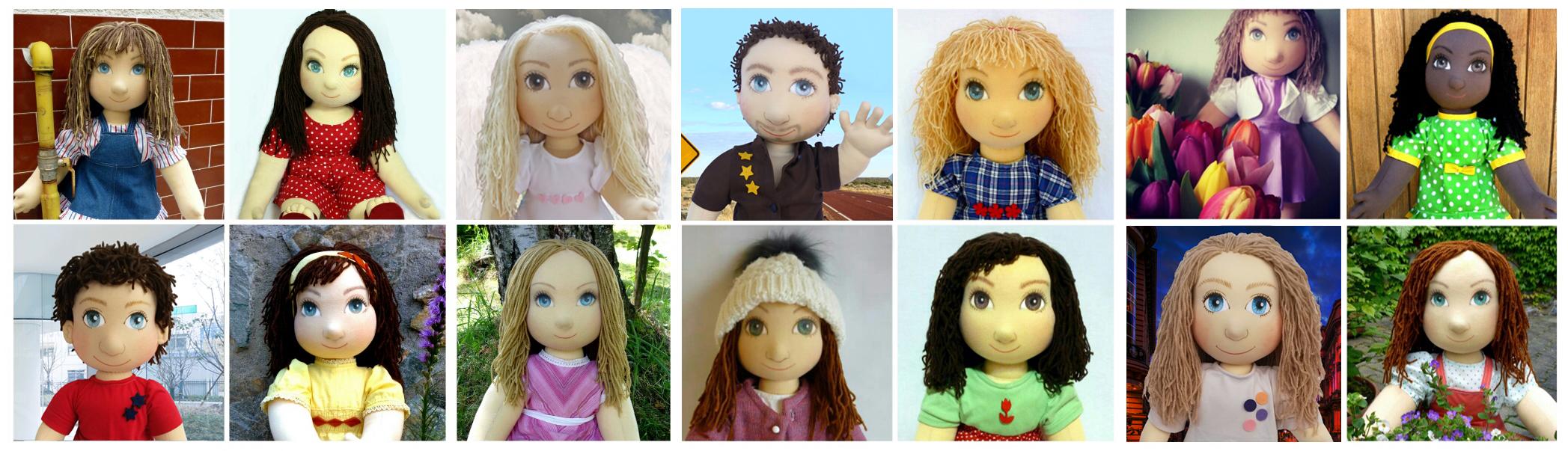panenky, ručně šité panenky, terapeutické panenky, panenky pro děti, panenka