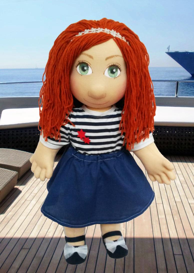 Ručně šitá panenka pro děti i seniory