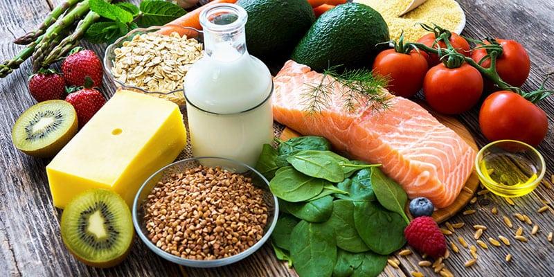 Zdravé potraviny a zeleniny