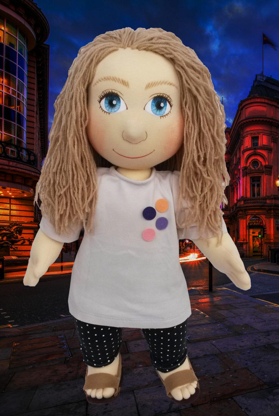 Ručně šité terapeutické panenky jsou ideální hračky pro děti