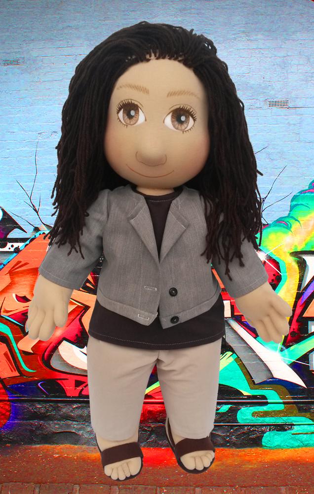 Ručně šitá terapeutická panenka je ideální hračka pro děti