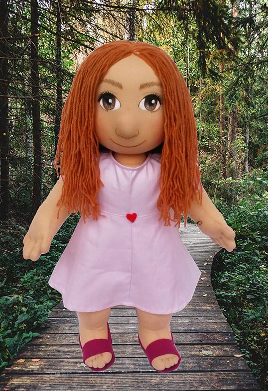 Ručně šitá terapeutická panenka k léčení vnitřního dítěte