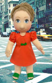 Ručně šité terapeutické panenky pro léčení vnitřního dítěte