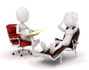 Terapie a terapeutické sezení u terapeuta
